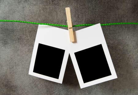 Designer concept - blank photo frames for your photos Stock Photo - 8054876