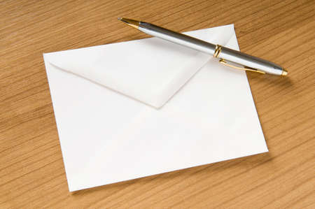 Mail concept with many envelopes on the table Stock Photo - 8054884
