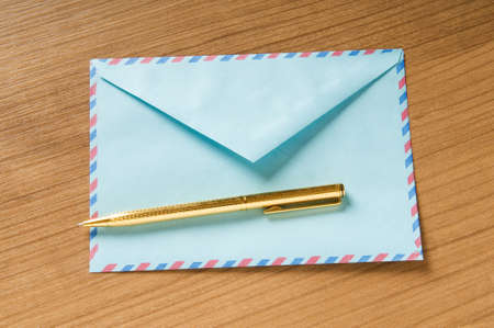 Mail concept with many envelopes on the table Stock Photo - 8136598