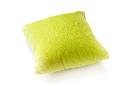 Bed pillow isolated on the white background Stock Photo - 8137402