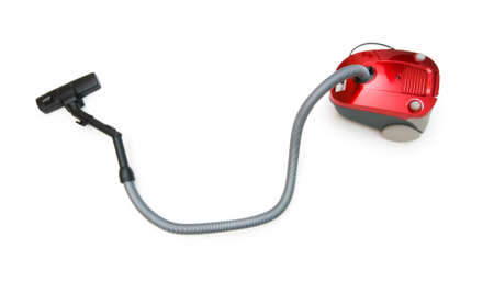 vac: Vacuum cleaner isolated on the white background