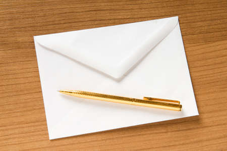 Mail concept with many envelopes on the table Stock Photo - 8209634