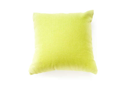 Bed pillow isolated on the white background Stock Photo - 8209365