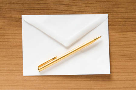 Mail concept with many envelopes on the table Stock Photo - 8234282