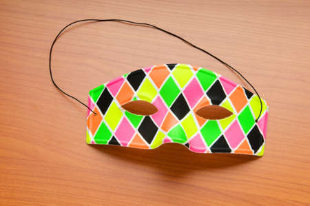 Colourful carnival mask as the celebratory concept Stock Photo - 8234288
