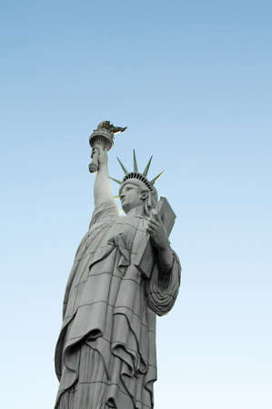 Famous statue of Liberty in New York photo