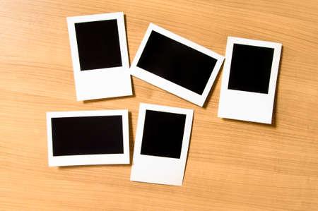 Designer concept - blank photo frames for your photos Stock Photo - 8460124