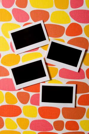 Designer concept - blank photo frames for your photos Stock Photo - 8460208