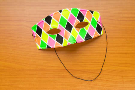Colourful carnival mask as the celebratory concept Stock Photo - 8460212