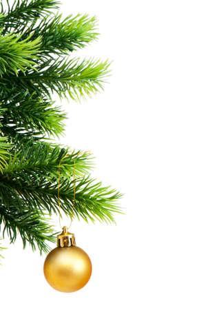 Christmas decoration isolated on the white background Stock Photo - 8460576