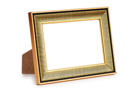 Picture frame isolated on the white background Stock Photo - 8614236