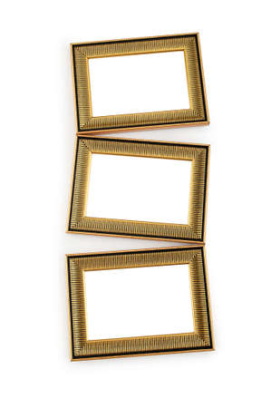 Picture frame isolated on the white background Stock Photo - 8614240