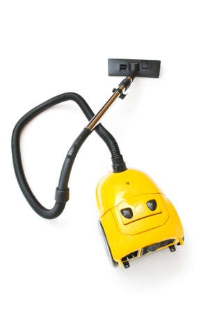 Vacuum cleaner isolated on the white background Stock Photo - 8614306