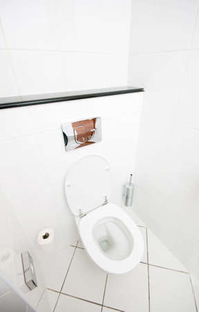 Inter of the room - Toilet in the bathroom  Stock Photo - 8614716