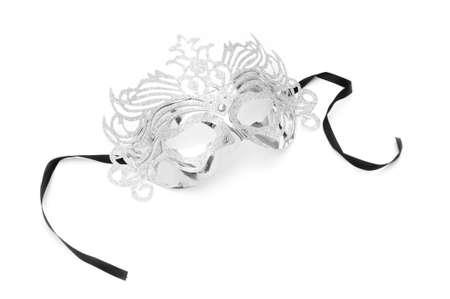 Ornate masks isolated on the white background Stock Photo - 8614675