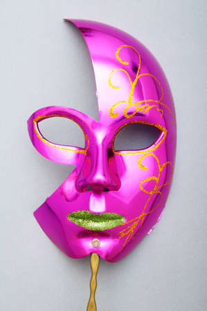 Ornate masks isolated on the white background Stock Photo - 8616353