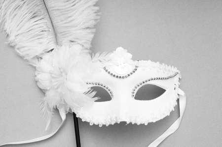 Ornate masks isolated on the white background Stock Photo - 8616333