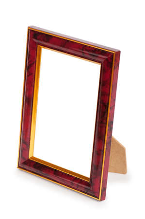 Picture frame isolated on the white background Stock Photo - 8657079