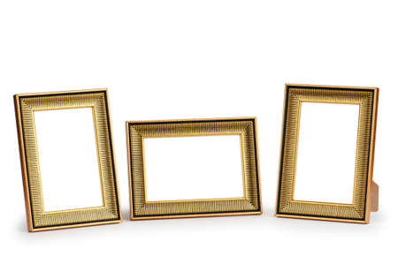 Picture frame isolated on the white background Stock Photo - 8657128