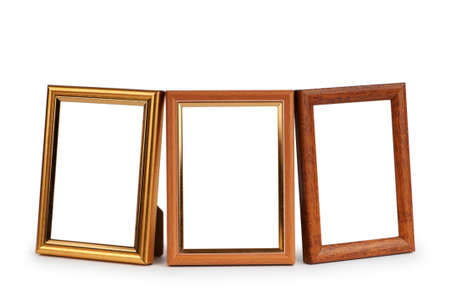 Picture frame isolated on the white background Stock Photo - 8656931