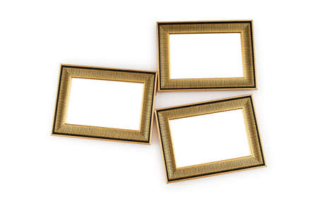 Picture frame isolated on the white background Stock Photo - 8657115