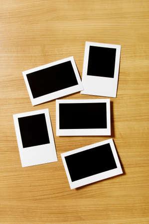 Designer concept - blank photo frames for your photos Stock Photo - 8656977