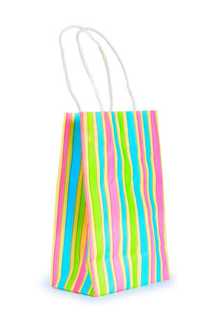 Shopping bags isolated on the white background Stock Photo - 8657100