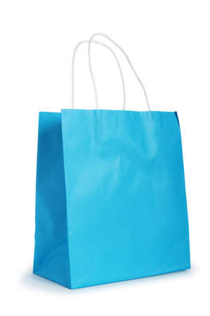 gift bag: Shopping bags isolated on the white background