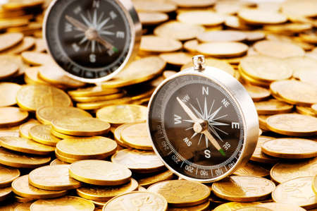 handel: Financial Concept - Navigation in schwierigen Zeiten f�r die M�rkte