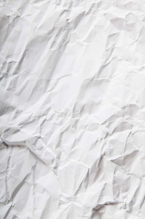 Wrinkled paper background photo