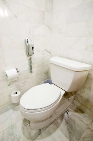 Inter of the room - Toilet in the bathroom  Stock Photo - 8740555