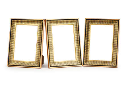 Picture frame isolated on the white background Stock Photo - 8745366