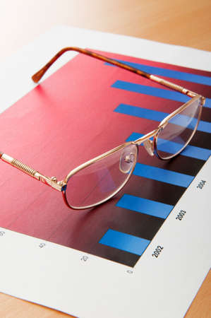 Business concept with charts Stock Photo - 8745606