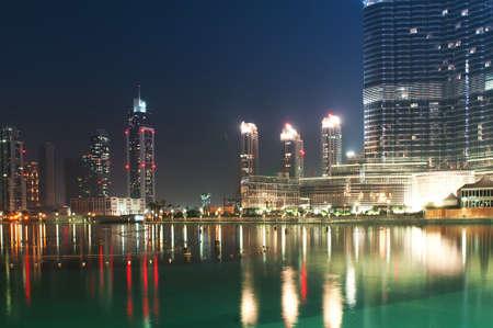 dubai city: Down town of Dubai city