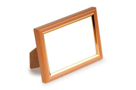 Picture frame isolated on the white background Stock Photo - 8881984