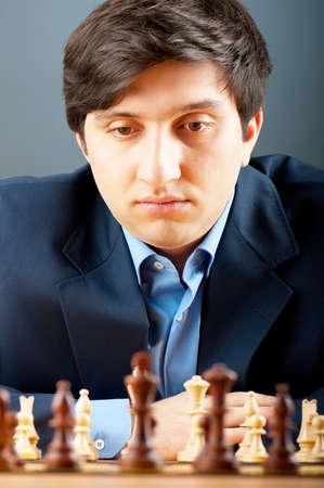 FIDE Grand Master Vugar Gashimov (World Rank - 12) from Azerbaijan Stock Photo - 8965002