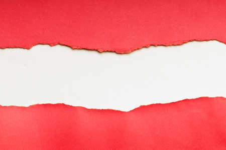 paper curl: Papel rasgado con espacio para el mensaje