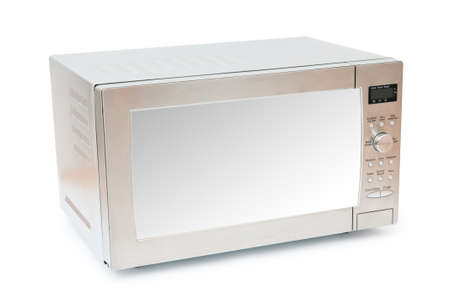 Microwave oven on the table Stock Photo - 8949501