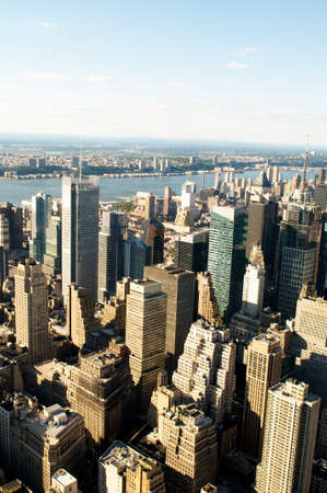 New York city panorama with tall skyscrapers Stock Photo - 8948414