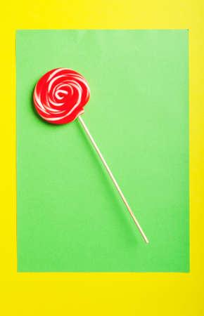 lolli: Colorful lollipop against the background