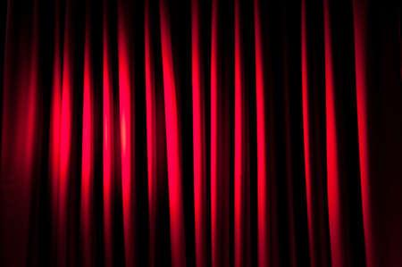 curtain design: Sovraesposizione tende per lo sfondo Archivio Fotografico