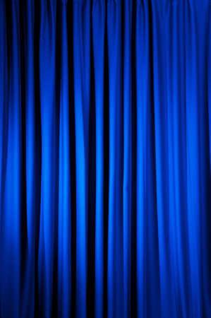 Brillantemente iluminado cortinas para su fondo