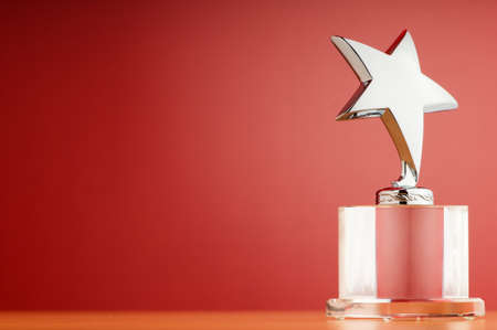 honours: Star award against gradient background
