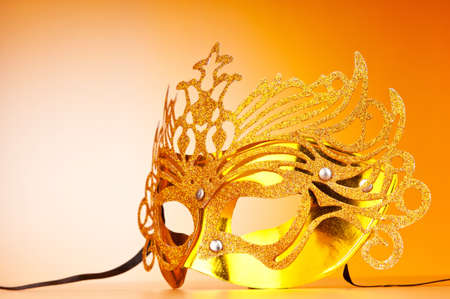 Masks with theatre concept Stock Photo - 9541395