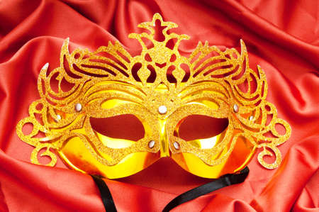 Masks with theatre concept Stock Photo - 9540033