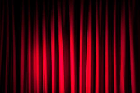 curtain theater: Brillantemente iluminado cortinas para su fondo