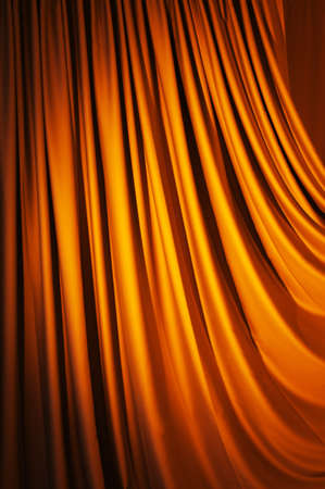 Brightly lit curtains for your background Stock Photo - 9546590