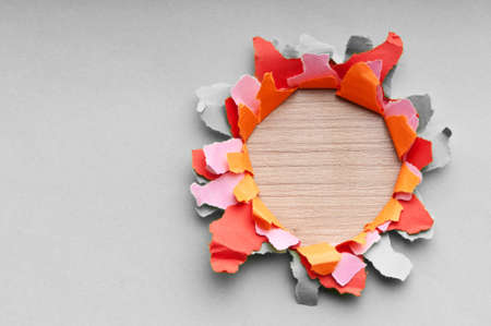 Torn paper with space for your message Stock Photo - 9546567