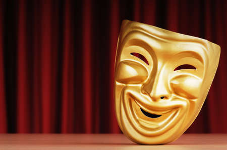 Masks with the theatre concept Stock Photo - 9546657