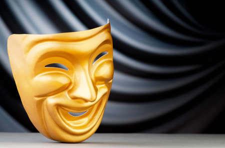Masks with the theatre concept Stock Photo - 9546566